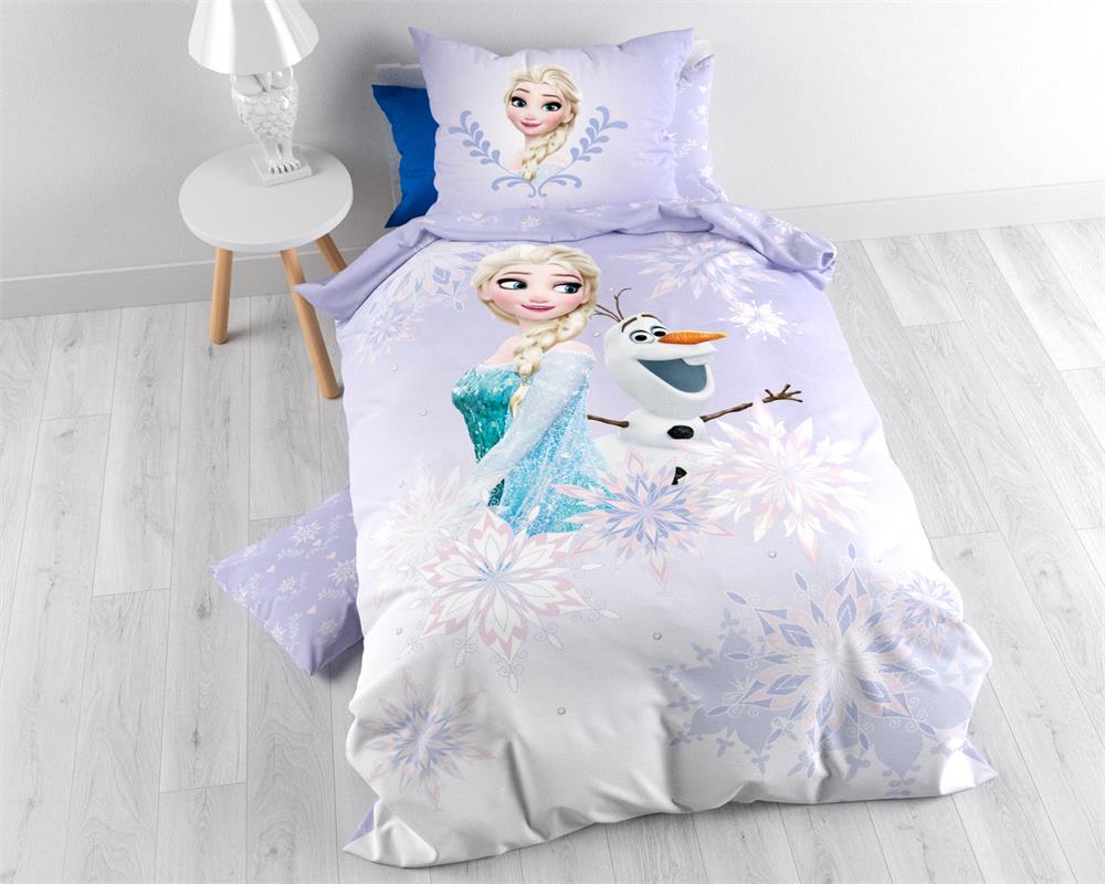 Disney Frozen Slaapkamer : Dekbedovertrek disney frozen kinderdekbed flanel liveandsleep