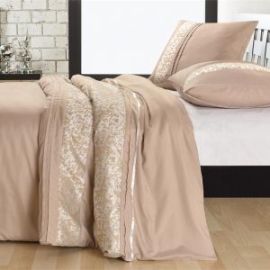 Fancy Embroidery Lille Taupe