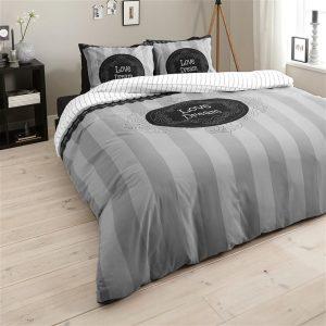 Dekbedovertrek Dreamhouse Bedding Love of Dream Grey