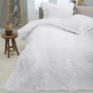 Bedsprei Sleeptime Nature White