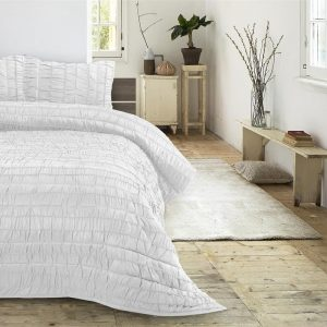 Bedsprei Sleeptime Victorian White