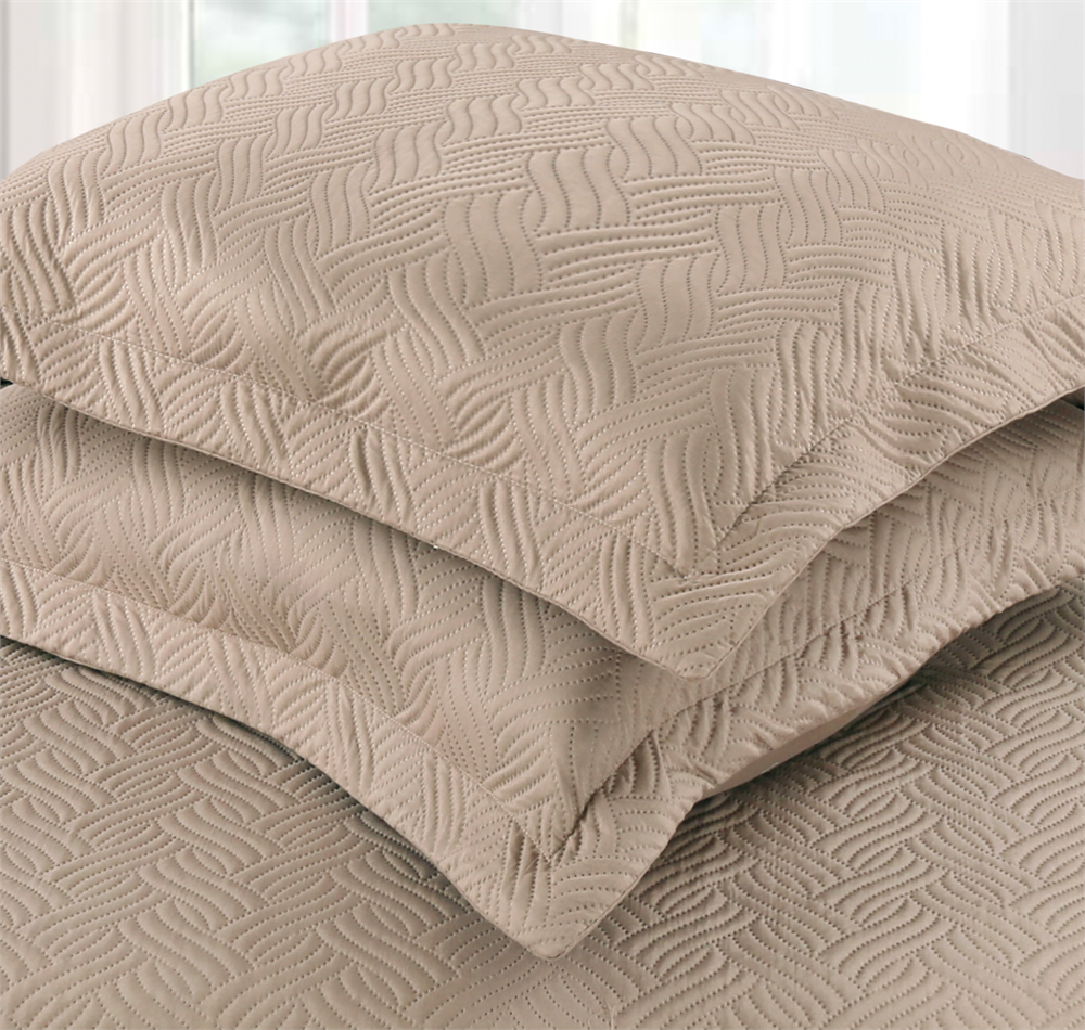 Bedsprei Sleeptime Wave Sand