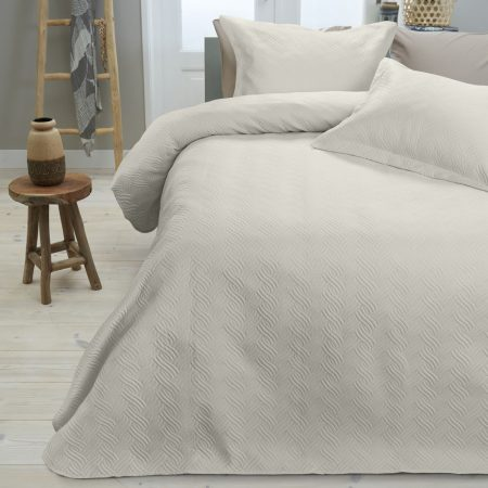 Bedsprei Sleeptime Wave Cream