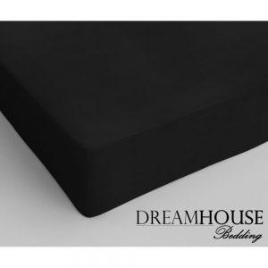 Hoeslaken Dreamhouse zwart